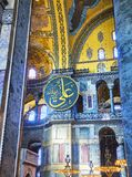 Skeppet av den Hagia Sophia moskén Istanbul Turkiet royaltyfria bilder