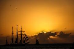 Skeppfartygsegling Royaltyfri Foto