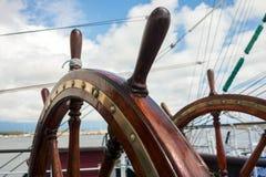 Skepphjul Fotografering för Bildbyråer