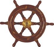 Skeppkontrollhjul Arkivbild