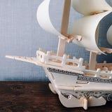 Skeppmodell arkivfoton
