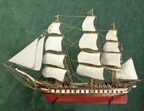 Skeppmodell Royaltyfri Bild