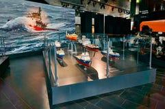 Skeppmodeller, miniatyrer Arkivfoton