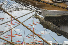 Skepppilbåge som en fågel Arkivfoton