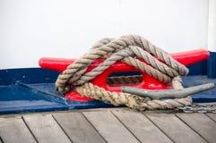 Skepps förtöja Royaltyfri Foto