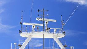 Skepps radar stock video