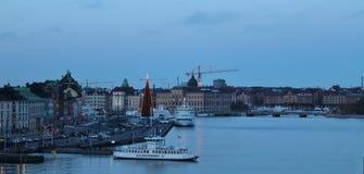 Skeppsbrokajen in Stockholm Stock Image