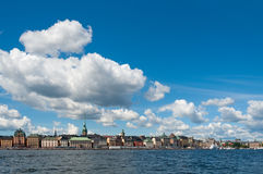 Skeppsbron Quay waterfront, Stock Photography
