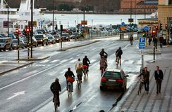 Skeppsbron, Stockholm Image stock