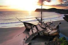 skeppsbrott Royaltyfri Fotografi
