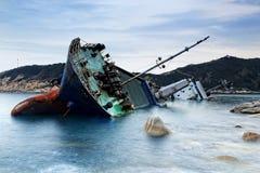 skeppsbrott Arkivfoton