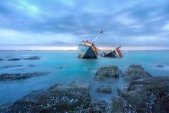 skeppsbrott Royaltyfria Foton