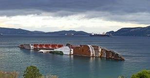 skeppsbrott Arkivbilder
