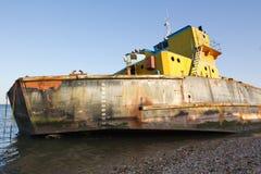 skeppsbrott lisbon för gammal port Arkivfoto