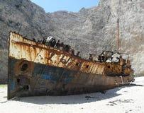 Navagio skeppsbrott Royaltyfri Foto