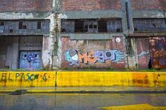 Skeppsbruten lagerbyggnad Arkivfoto