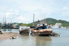 Skeppsbrutet royaltyfria bilder