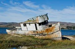 Skeppsbrutet fartyg Royaltyfri Fotografi
