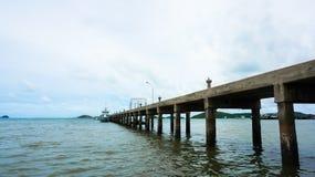 Skeppsdockor för djupt vatten. Arkivfoton