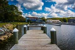 Skeppsdockor på norr östlig gemenskap parkerar i norr öst, Maryland Royaltyfria Bilder