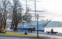 Skeppsholmen, Stockholm Lizenzfreie Stockfotografie