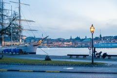 Skeppsholmen, Stockholm Stockfoto