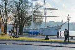 Skeppsholmen, Stockholm Lizenzfreie Stockfotos