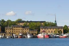 Skeppsholmen Stockholm Lizenzfreies Stockbild