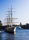 Skeppsholmen in Stockholm in Sweden Stock Images