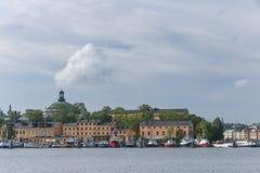 Skeppsholmen in Stockholm. Stock Images
