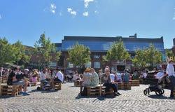 At Skeppsholmen in Stockholm Royalty Free Stock Images