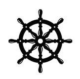 Skeppstyrninghjul Arkivbilder