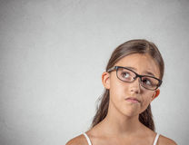 Skeptical teenager Stock Photography