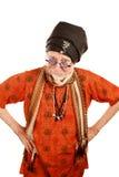 Skeptischer Guru lizenzfreies stockfoto