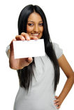 Säker indisk kvinna Arkivbild