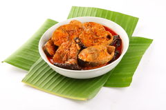 SKerala cuisine- Spicy fish curry Royalty Free Stock Photo