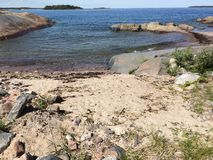 Skerries. Archipelago in Roslagen Sweden Royalty Free Stock Images