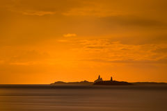 The Skerries Lighthouse. Stock Photo