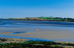 Skerries Ocean Bay Stock Photography