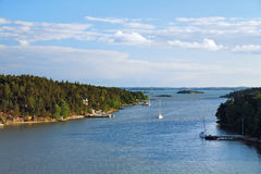Skerries off the coast of Finland Stock Image