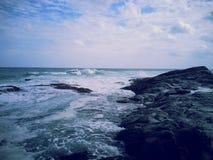 Skerry de mer Photographie stock libre de droits
