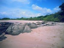 Skerry de mer Photo libre de droits