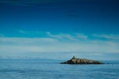 Skerry ein Lofoten Lizenzfreies Stockbild