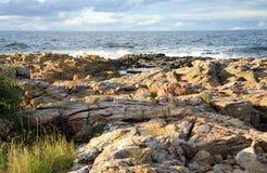 Skerry, Gudhjem Bornholm, Denmark Stock Photography