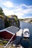 Skerry Landscape of Flatoen, Sweden Stock Images