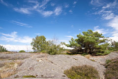Skerry Landscape of Flatoen, Sweden Royalty Free Stock Photo