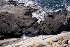 Skerry rocks Royalty Free Stock Photos