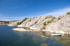 Skerry rocks of Flatön, Sweden Royalty Free Stock Photo