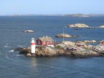 Skerry sueco Foto de archivo libre de regalías