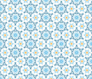 Sketch abstract snow flake pattern Stock Photos